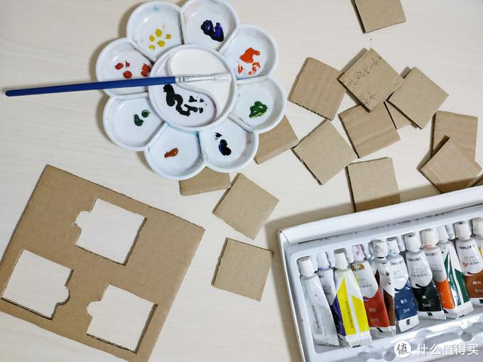 纸板玩具自己做,数字游戏很欢乐!