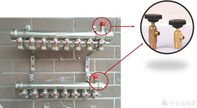 供暖季必备技能:教你给分水器排气,温度瞬间提高5℃!