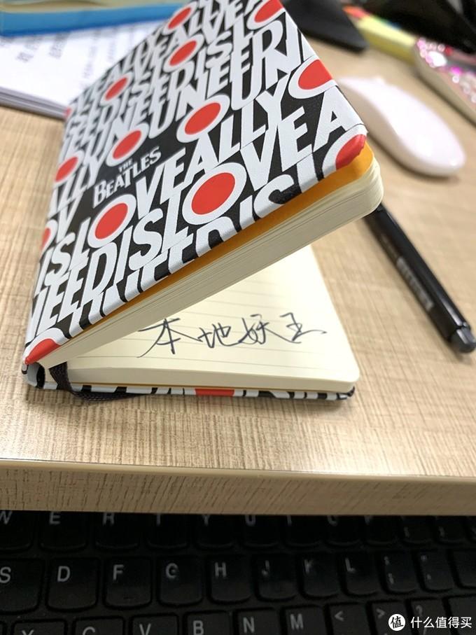 手写本中的奢侈品-MOLESKINE 披头士特别版横间口袋型