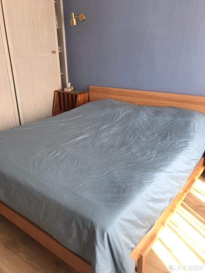 兰叙60支睡起来很舒服北欧风纯净纯棉四件套晒单