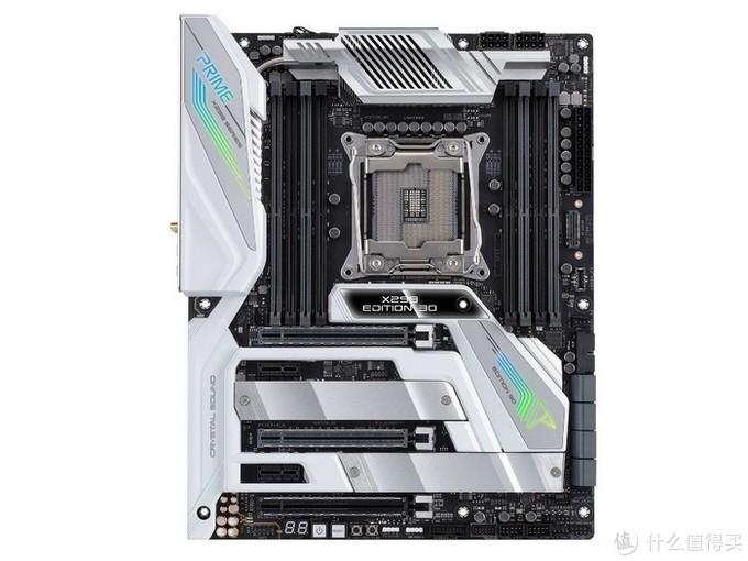 手势/语音操控、16相供电主动散热:ASUS 华硕 发布 Prime X299 Edition 30周年纪念版等新品