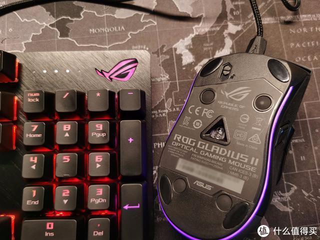 听我的,ROG整一套——ROG Gladius II  12000DPI版游戏鼠标