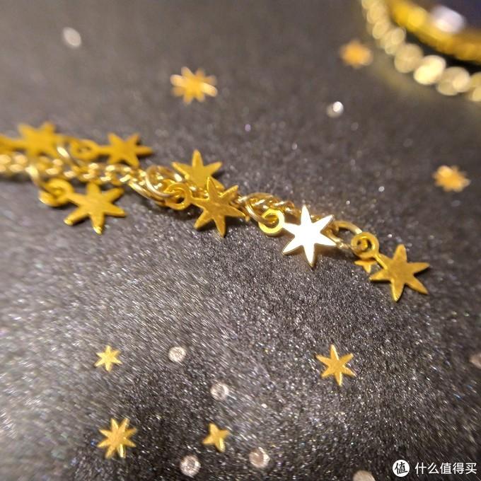 六角星书签链尾部装饰