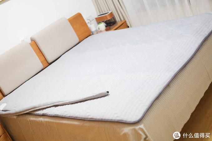 一年四季都能用?舒适度相当不错!—佳尼特 智能恒温水暖床垫使用体验