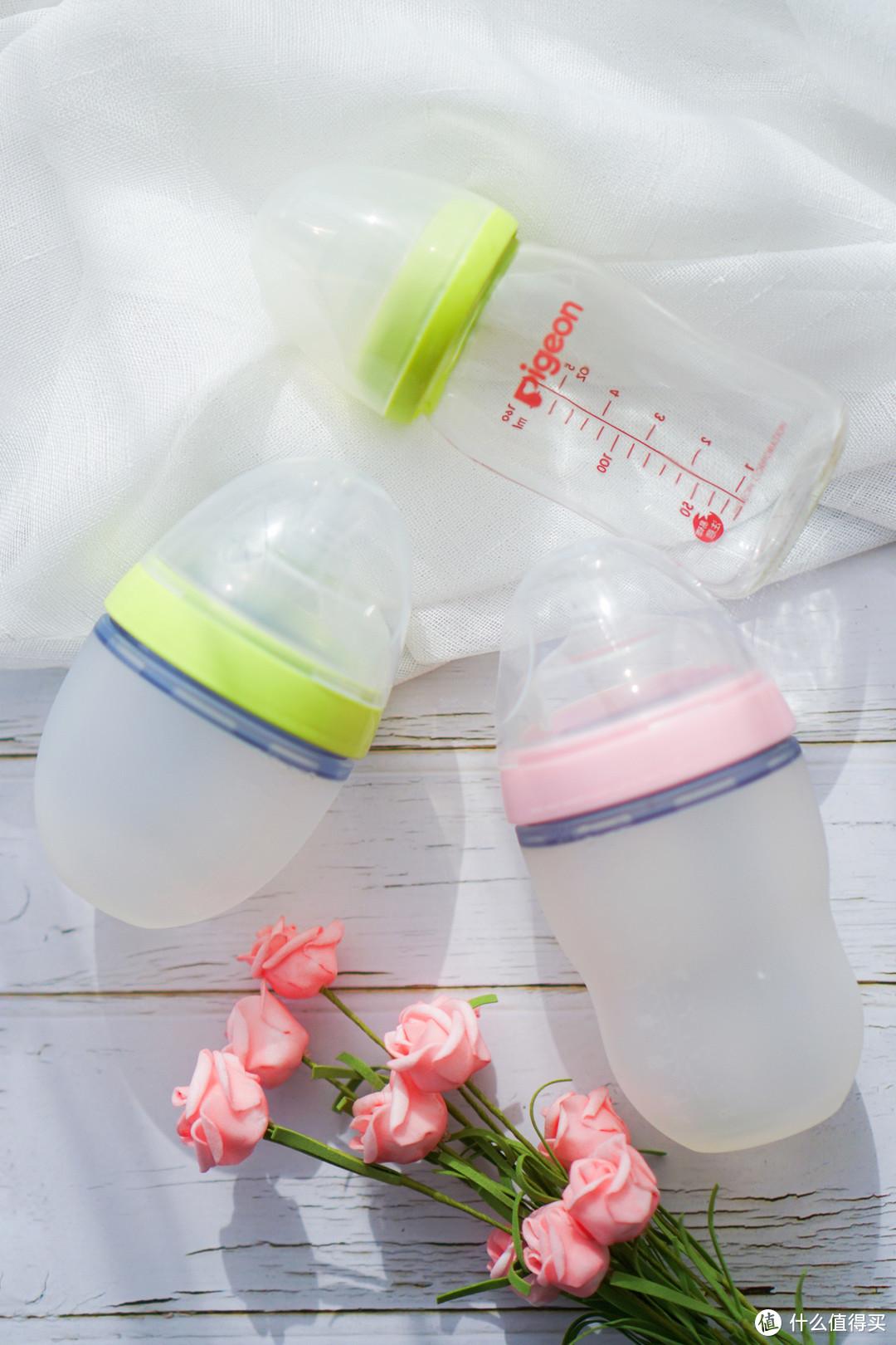 目前为止,我家宝宝就用这三个奶瓶