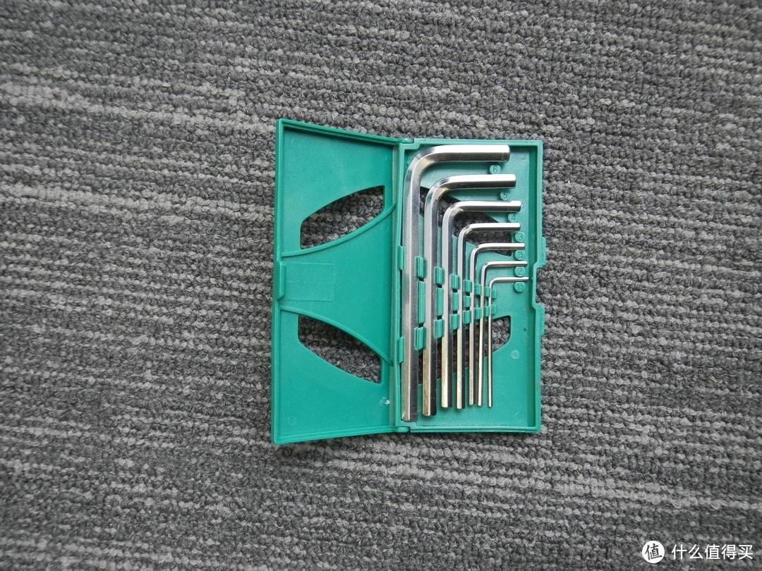 家居工具推荐——世达家用工具箱19件套装