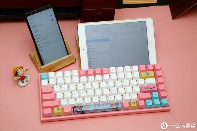 动漫定制、蓝牙双模,AKKO3084航海王乔巴机械键盘开箱体验