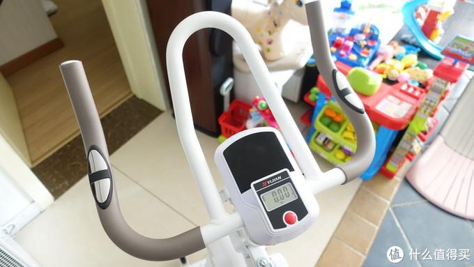 高层健身好选择:亿健动感单车D8开箱体验
