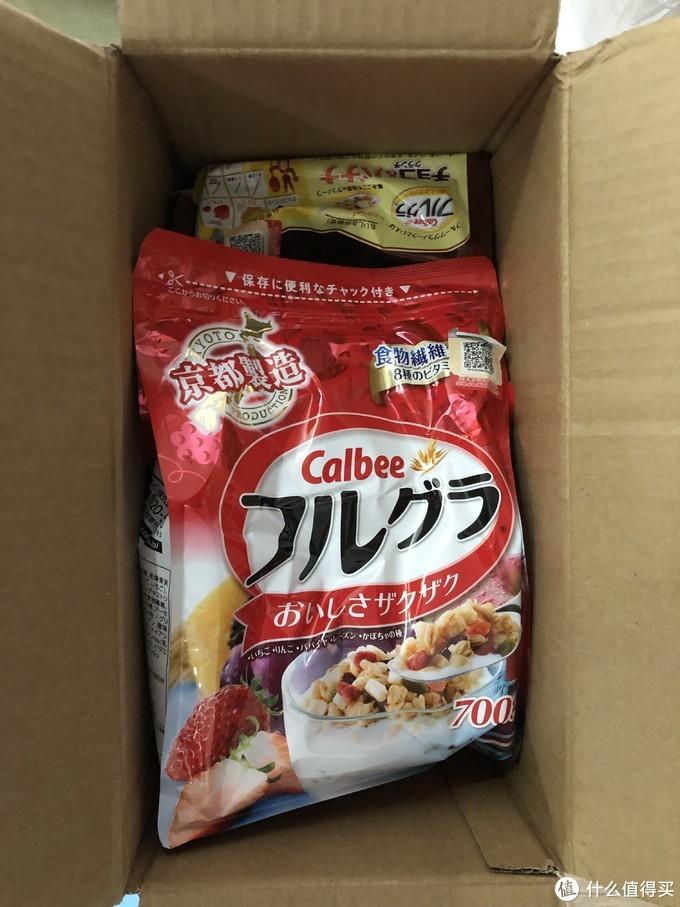 饿货,为双十一剁手积攒能量吧——Calbee(卡乐比)富果乐水果麦片