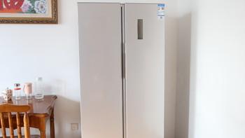 超大容量,超低噪音,米家对开门冰箱全体验