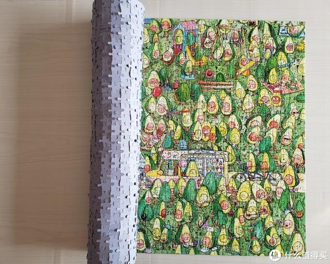 活的牛油果 —— Gibsons牛油果公园拼图1000片