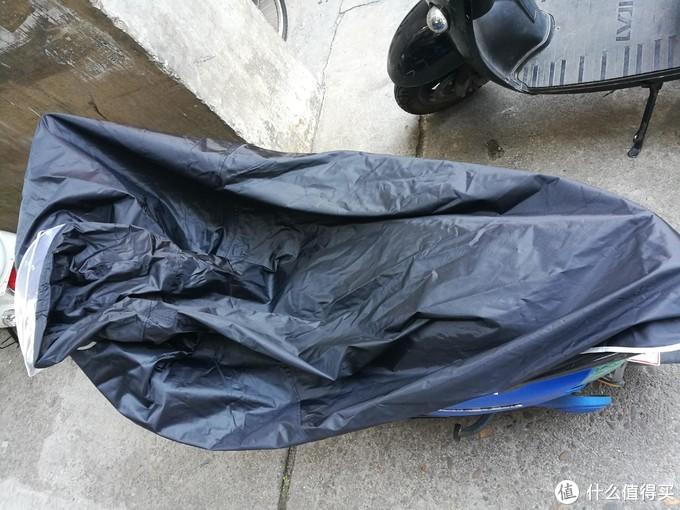 白菜雨衣是否值得撸——旺雨电动车雨衣开箱