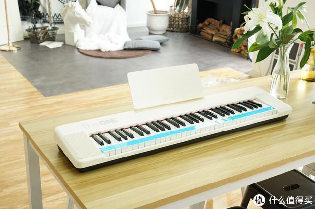 The ONE智能电子琴Air:给你一次学会弹琴的时间