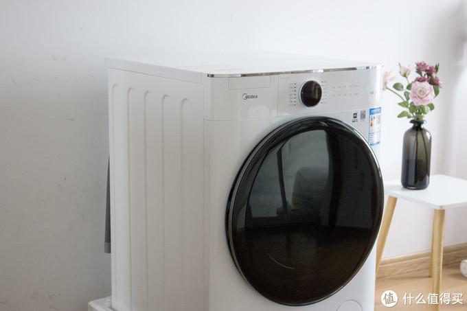 一台洗衣机还能好用上天?美的全自动直驱滚筒洗衣机使用分享