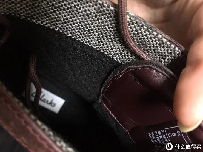 鞋子里面是加绒的,适合冬天穿。