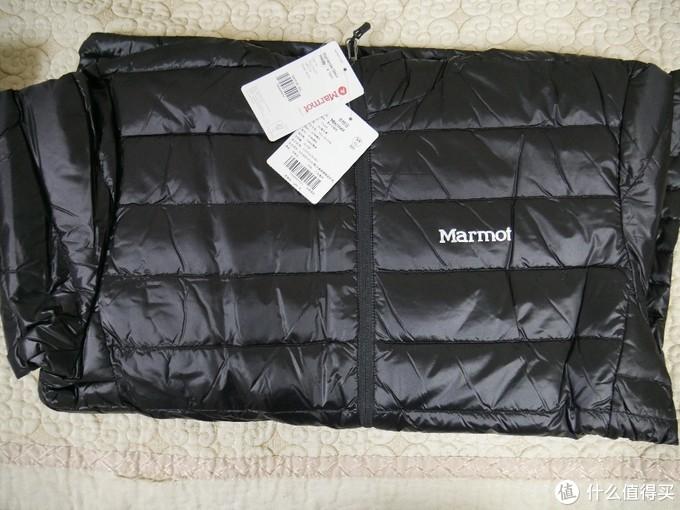 历史低价!Marmot土拨鼠v79405羽绒服开箱上手,香否?