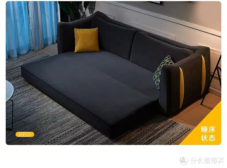 """小户型的变形金刚!双11数款网销品牌""""沙发床""""推荐,拓展空间美滋滋!"""