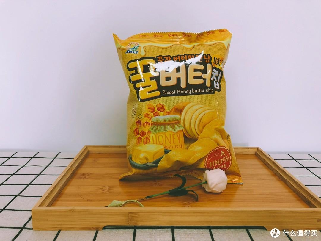 九日蜂蜜黄油味薯片¥14.5/60g