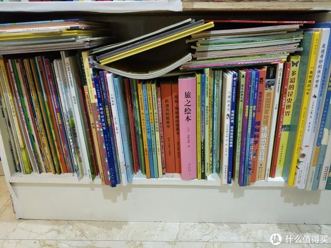 书柜的一部分童书