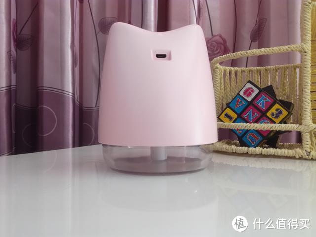 萌萌小猪造型,喷雾净化你身边的空气,可爱网红迷你USB加湿器