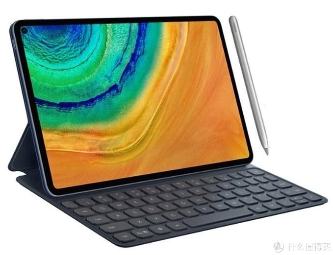 挖孔屏、屏幕指纹:HUAWEI 华为 MatePad Pro 平板曝光