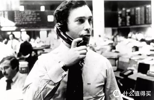 图:布隆伯格在华尔街工作时