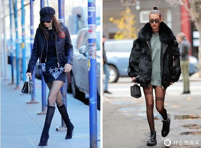 千万别露脚踝了!跟杨幂学穿黑丝,保暖、时髦还减龄!