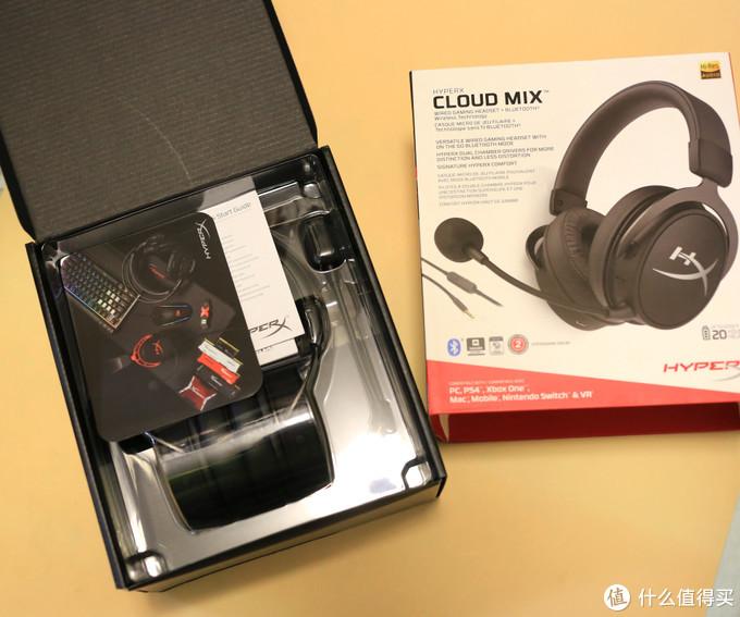 """Cloud""的品质依旧,""Mix""的功能不够完善,HyperX Cloud Mix耳机评测 - 内有隐藏功能开启方式"