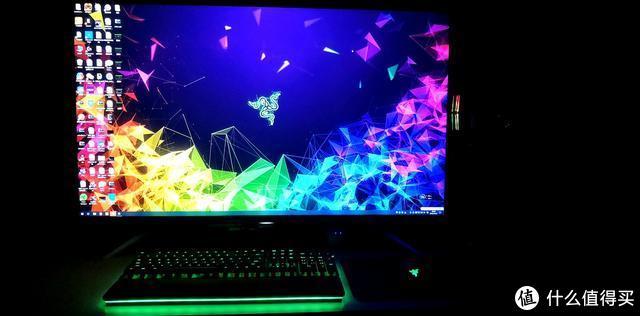 好马配好鞍,雷蛇(Razer)猎魂光蛛精英版让你的桌面流光溢彩