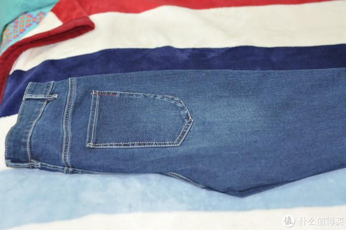 冬天再添新装:商场专柜买到的以纯牛仔裤开箱