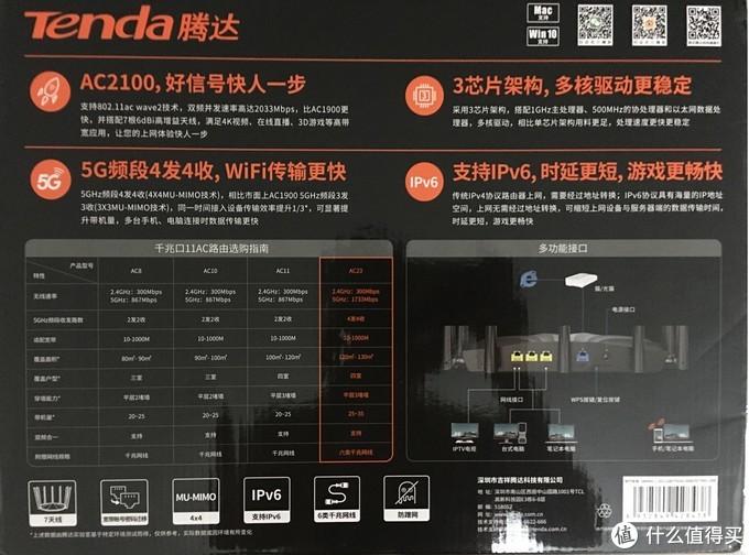 心系奥迪入手奥拓——我的Tenda AC23晒单简评