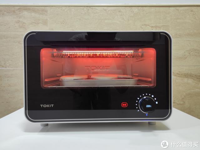 小米系TOKIT迷你智能电烤箱评测,轻松做出美食