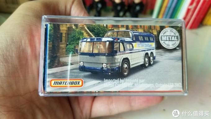 火柴盒 matchbox 55年 GMC Scenic Cruiser观光巴士