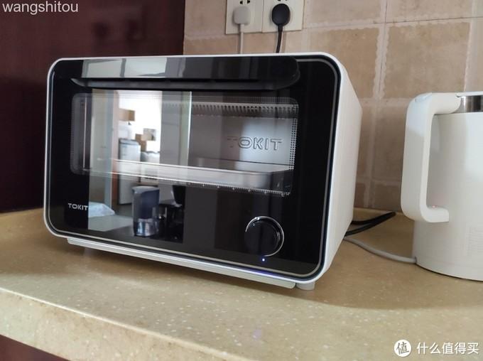 """""""烘焙小白""""深度体验:TOKIT迷你智能电烤箱,厨房颜值担当!"""