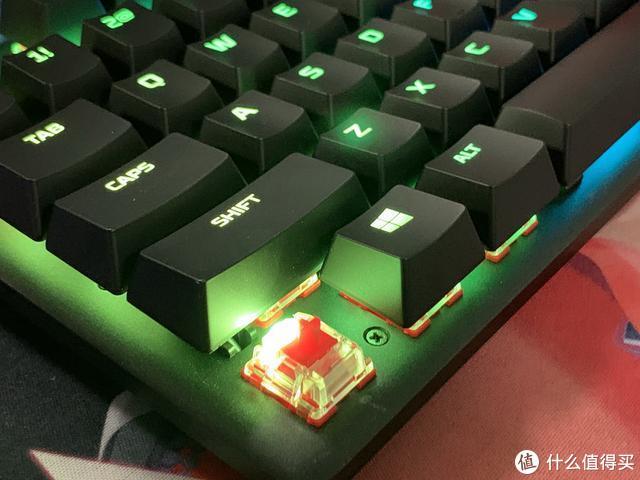 炫彩设计操控灵敏,HyperX Origins RGB机械键盘