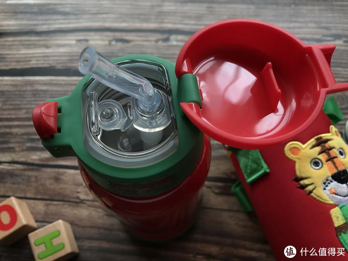 儿童用品:优秀保温Cuipo红色老虎600ml保温杯