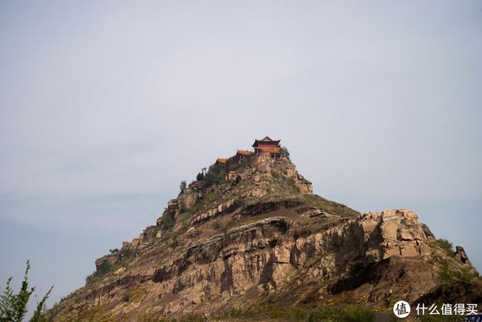 崖顶的庙宇无法攀登了