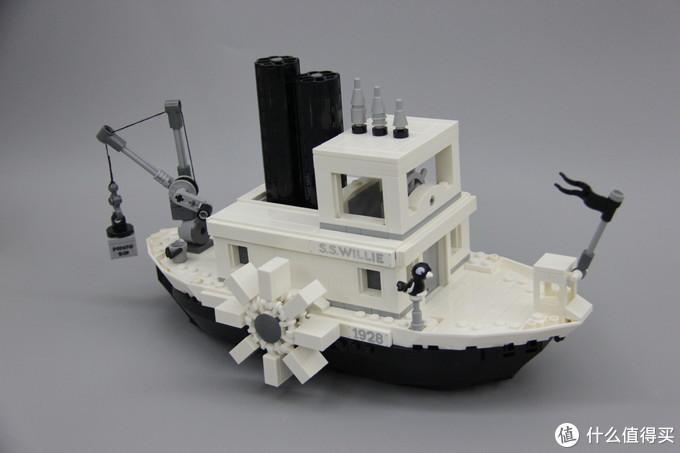 再来看看威利号汽船