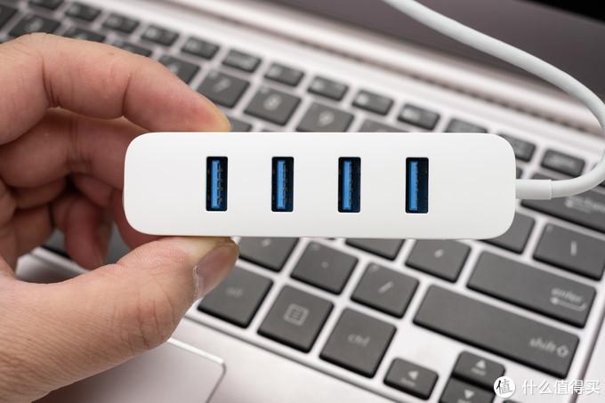 为轻薄笔记本电脑而生,解决USB接口不足问题:小米USB3.0分线器