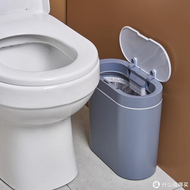 洁安惠这款智能垃圾桶,不仅会感应开盖还防水!