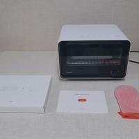 TOKIT迷你智能电烤箱评测怎么用好不好用(说明书|尺寸|操作细节|自定义温度|APP控制)