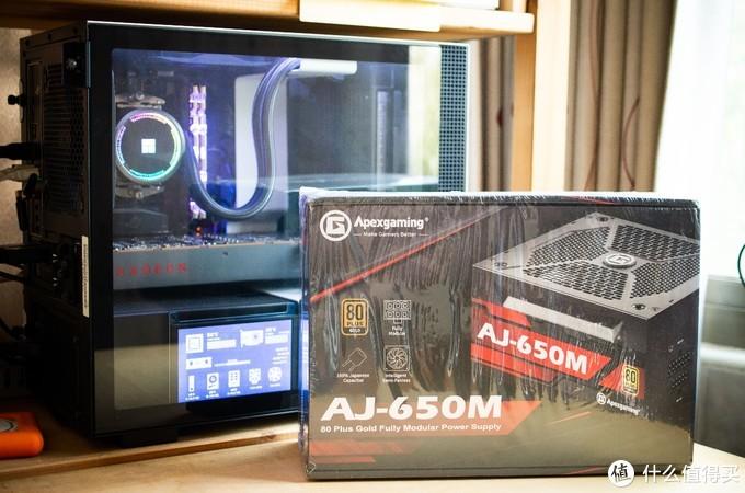市售最便宜650W全模组电源——美商艾湃电竞AJ-650M开箱