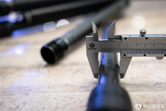2号管,实测25mm,与官方说法一至