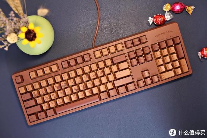"""最""""好吃的""""键盘?樱桃轴PBT键帽之黑爵巧克力键盘使用经验分享"""