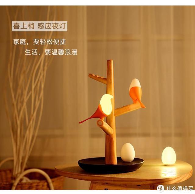 喜上梢小夜灯:让小鸟陪伴你的美好生活