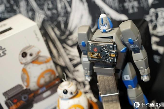 原力技术剖析 Sphero 星球大战BB-8战损版机器人+原力手环测评体验