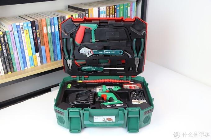 世达88件实用工具箱体验:居家维修百宝箱,轻松搞定各种安装任务