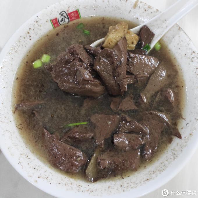 据说是最好喝的猪血汤
