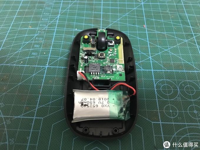 维修小记——无线鼠标更换内置锂电池
