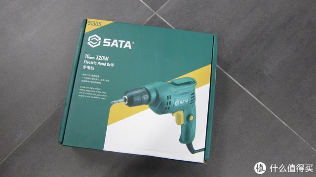 一钻在手,家装不愁,世达SATA手电钻轻体验